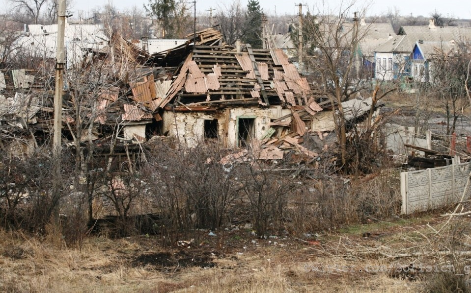 Донецк – очередной укробстрел