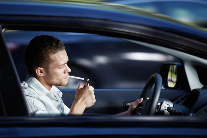 Как избавиться от сигаретного дыма в салоне автомобиля