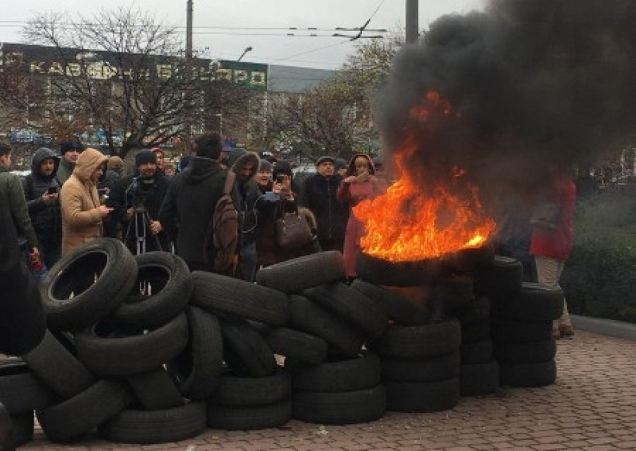 Газовый майдан и «холодомор» Порошенко