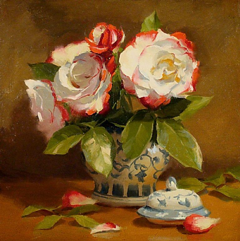 Гармония цветов в натюрмортах Лори Керси