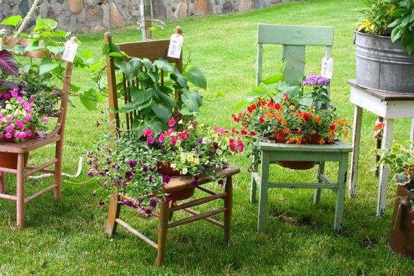 Оригинальные идеи для дачи и сада своими руками