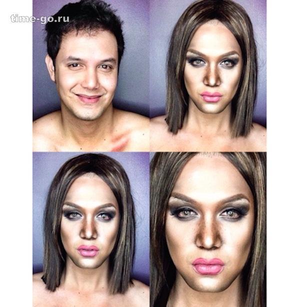С помощью макияжа этот парен…