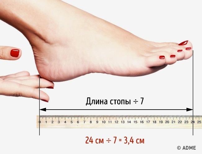 Каблуки такой высоты полезно носить хоть круглые сутки