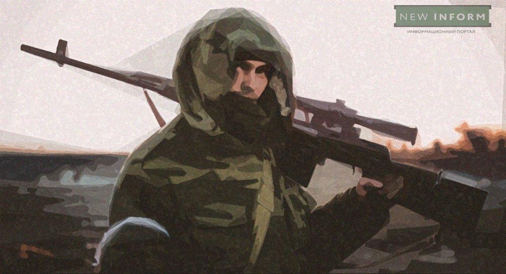 Неудачный прорыв украинской армии: огонь снайперов ополчения сорвал наступление ВСУ