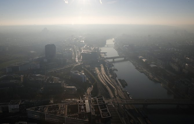 В офисе МВФ в Париже прогремел взрыв