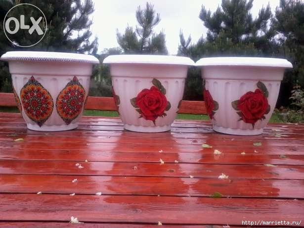 Варианты декорирования цветочных горшков (14) (615x461, 135Kb)