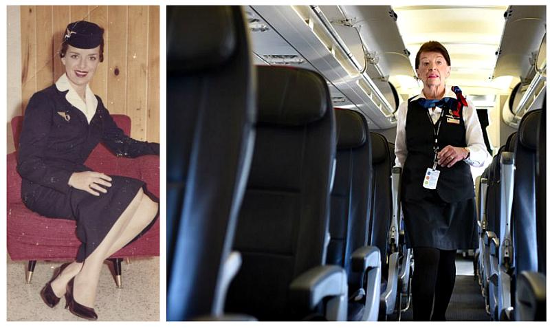 Начала при Хрущеве, продолжает при Трампе: 81-летняя стюардесса летает уже 60 лет
