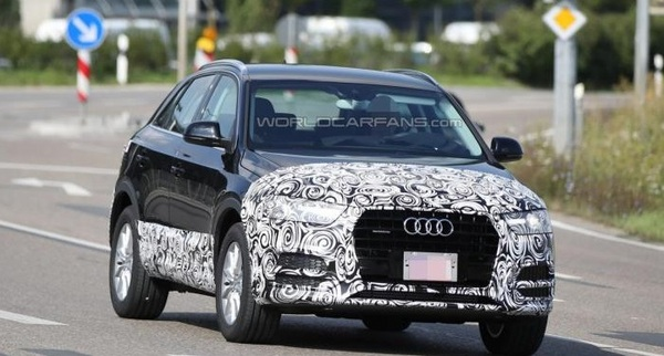 Audi обновит модель Q3 к концу 2014 года