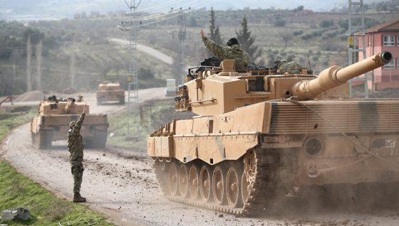 ВС Турции: в ходе операции в Африне уничтожено около 1,5 тыс. «террористов»