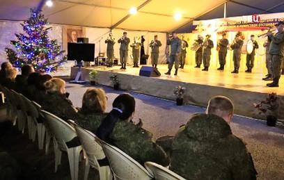 Российские военные встретили новый год на авиабазе Хмеймим
