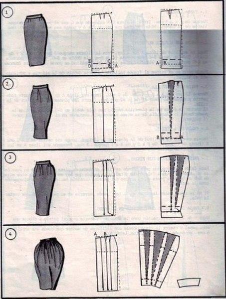 Варианты юбок