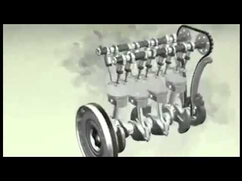 Результаты работы двигателя 3D модель) с MPG FFI