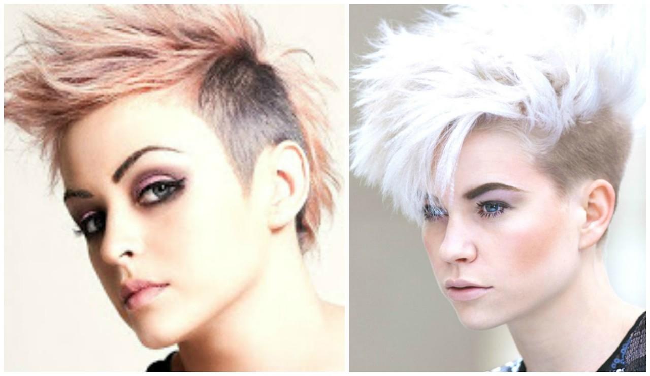 Модные причёски креативные