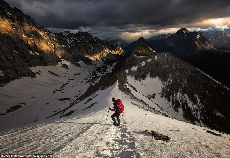 Походная тропа Покатерра Ридж (Pocaterra Ridge) в Канаде в мире, красивые фото, красивый вид, пейзажи, природа, путешествия, фото, фотографы