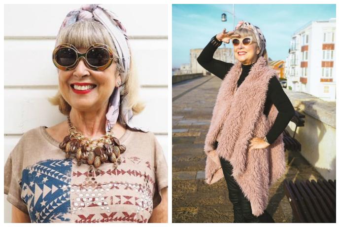 Пенсия — не время отдыхать: ей 68 лет и она звезда Сети.