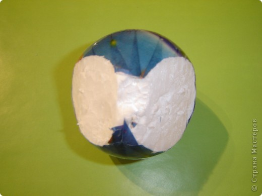 Яблоко и черешня из пайеток