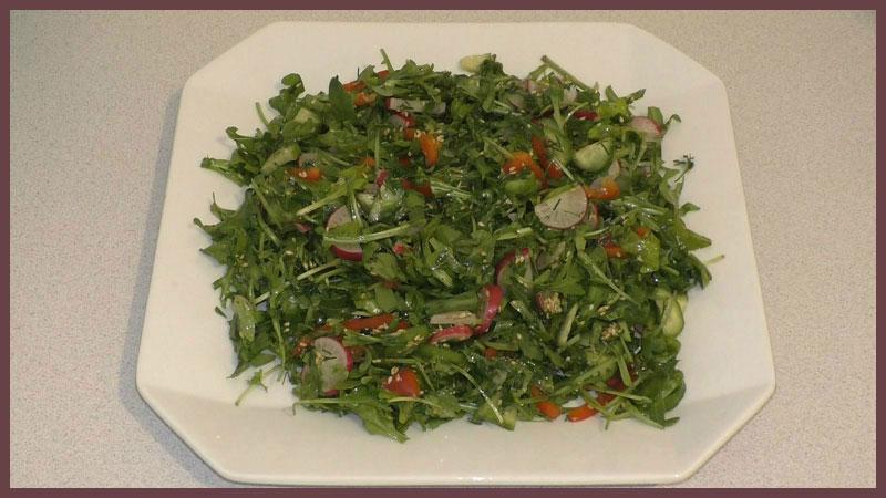 Салаты с руколой рецепты простые и вкусные