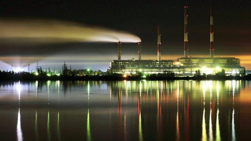 Змиевская ТЭС на Украине прекратила работу из-за дефицита угля