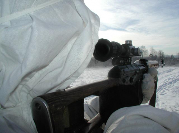 Снайпер ДНР поднял на воздух машину с «АТОшниками» под Авдеевкой