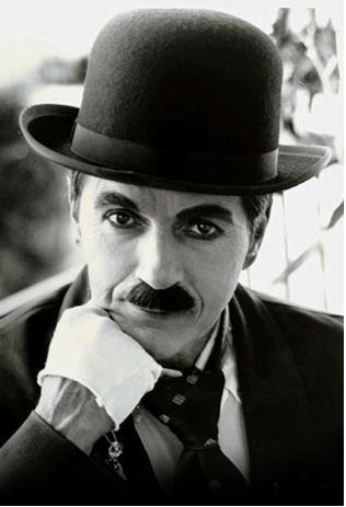 Чарли Чаплин, редкие документальные кадры.