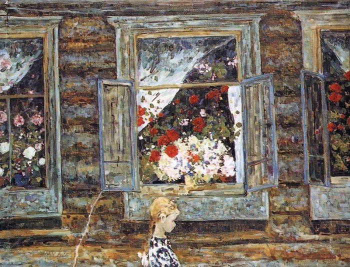 Художник Борис Домашников (1924 – 2003)
