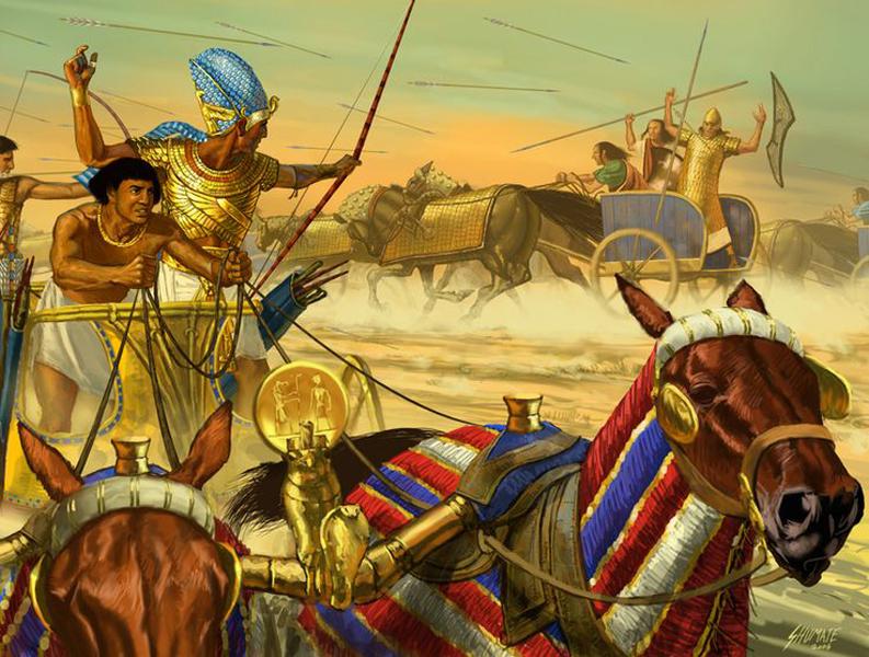 Воины фараона: кто сражался за великий Египет