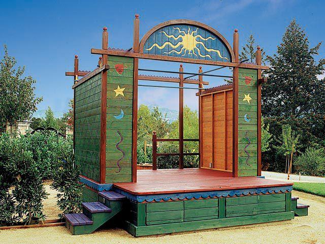 Самые необычные идеи для заднего двора идеи, дворик