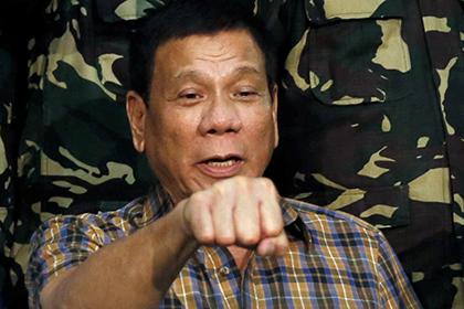 Дутерте разрешил ВМФ России свободно заходить в воды Филиппин
