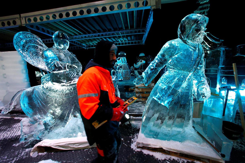 Ледяной фестиваль в Европе