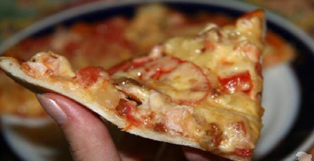 Как приготовить ресторанную пиццу. Наконец-то получился легкий и пышный корж!…