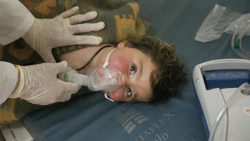 Запад поставлял хим.оружие террористам в Сирии
