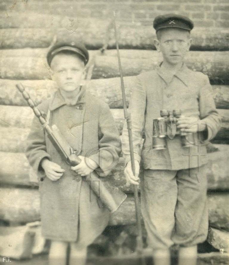 Дети довоенной поры