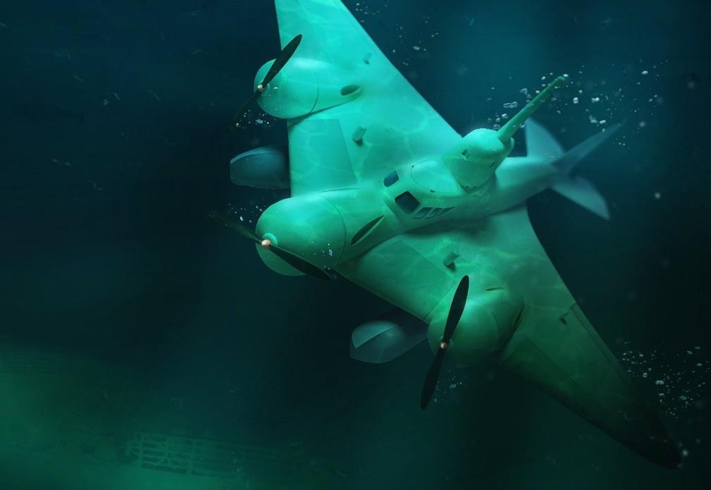Летающие субмарины: соревнование военных  СССР и запада