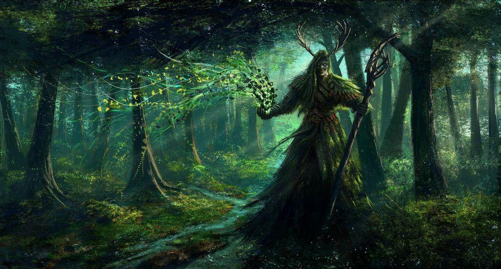 О чём вещали руны друидов…
