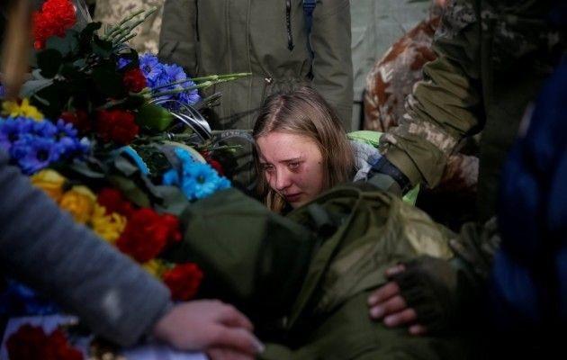 Трое защитников Донбасса пог…
