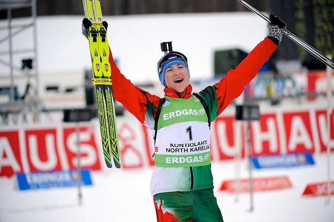 Дарья Домрачева трехкратная Олимпийская Чемпионка!!!