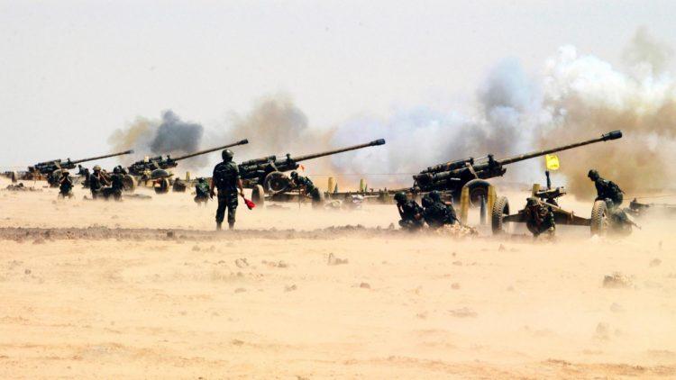 Решительный рывок: cирийские артиллеристы взяли Пальмиру на прицел