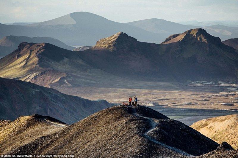 Гора Ландманналаугар в Исландии в мире, красивые фото, красивый вид, пейзажи, природа, путешествия, фото, фотографы