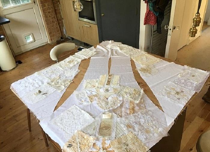 Свадебное платье, созданное всем миром: как друзья одевали невесту