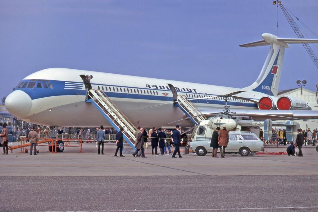 45 лет первому полету первого серийного Ил-62М