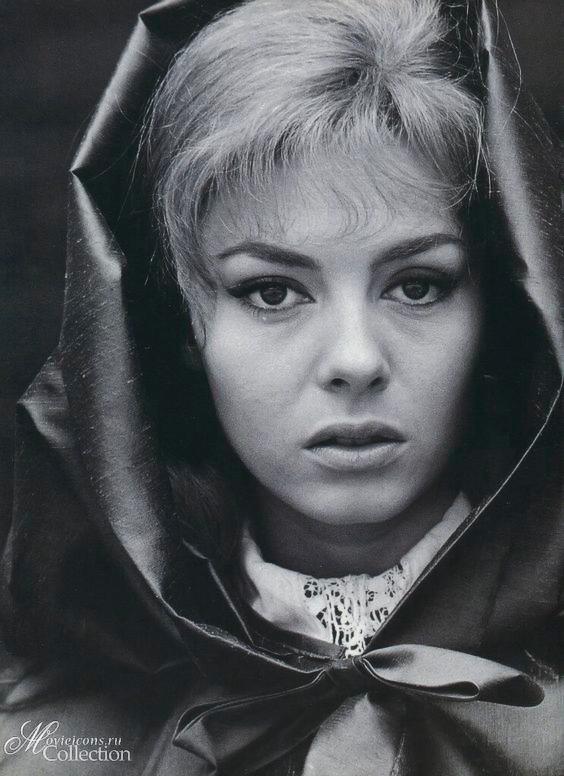Подборка красивых фотографий Мишель Мерсье в молодости и сейчас