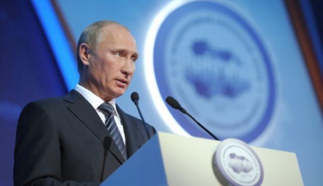 """Путин призвал """"читать по губам"""" его ответ на вопрос о выборах в США"""