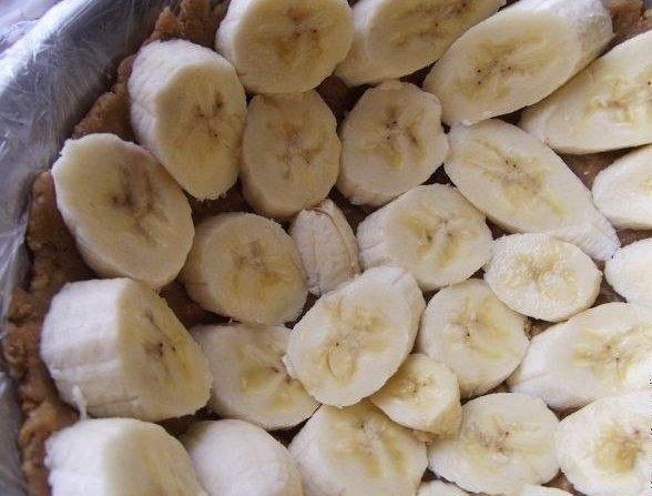 """Банановый торт без выпечки """"Трюфельдинья"""""""
