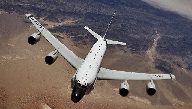 Мобильное приложение позволило отследить самолеты-шпионы у Калининграда