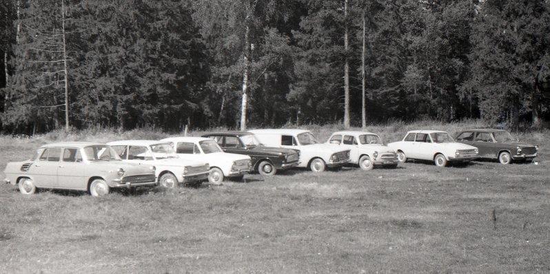 Редкие иномарки на испытаниях в СССР
