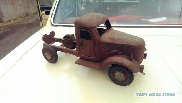 "Реставрация грузовика ""Запорожец"" (Запорожсталь) 60-е г.г."