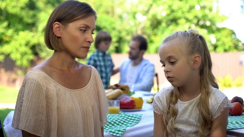 отношения с матерью и отцом