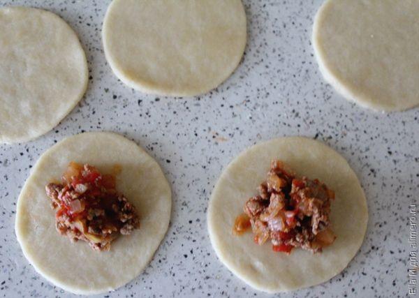 Эмпанадиты. Пирожки с мясом в духовке