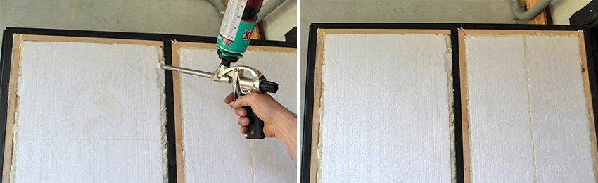 Как обшить металлическую дверь своими руками