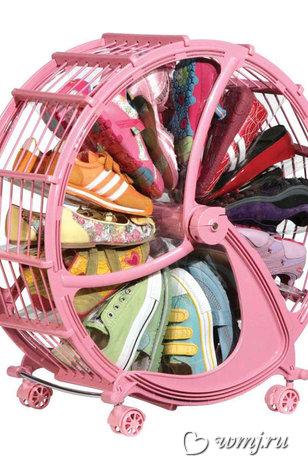 Колесо для хранения обуви